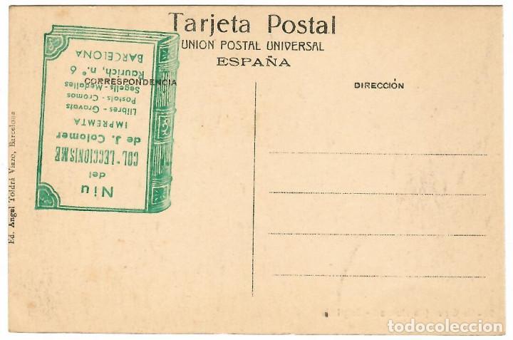 Postales: LA GLEVA Nº 9 / SAGRISTIA / EDICIO A.T.V. - Foto 2 - 262907625