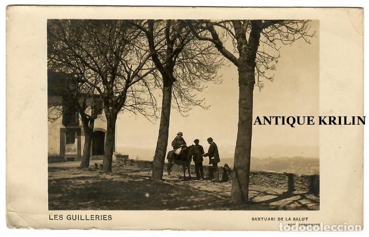 LES GUILLERIES / SANTUARI DE LA SALUT / FOTO ZERKOWITZ (Postales - España - Cataluña Antigua (hasta 1939))