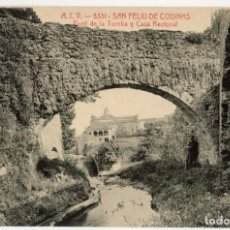 Postales: A06740 SANT FELIU DE CODINES PONT DE LA TOMBA Y CASA RECTORAL ATV Nº3331SC. Lote 262938415
