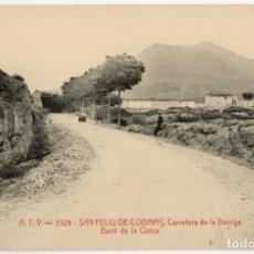 Postales: A06742 SANT FELIU DE CODINES CARRETERA DE LA GARRIGA BARRI DE LA QUICA ATV Nº3329 SC. Lote 262938530