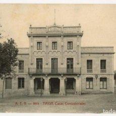 Postales: A06741 TIANA CASAS CONSISTORIALES ATV Nº985 SC. Lote 262938670