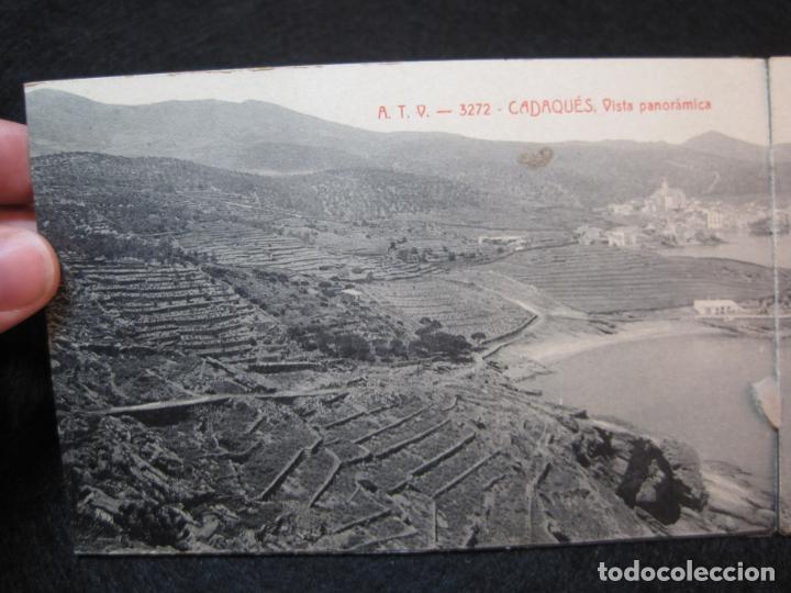 Postales: CADAQUES-DOBLE-VISTA PANORAMICA-ATV 3272 A.T.V.-POSTAL ANTIGUA-(80.690) - Foto 2 - 262952805
