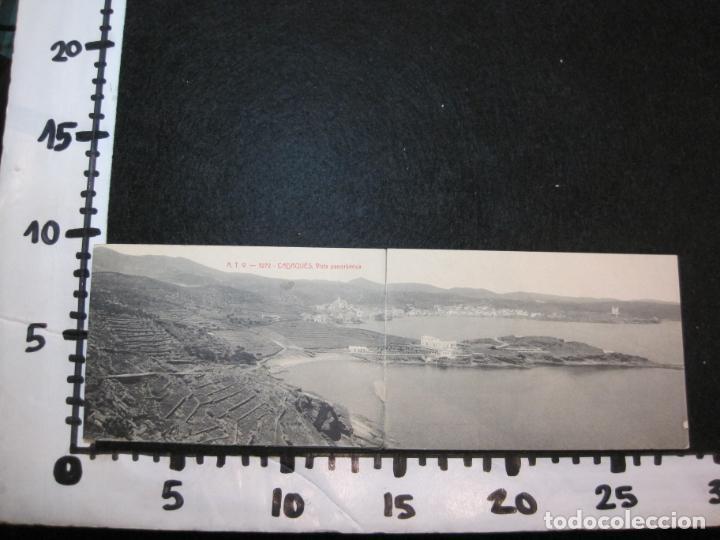 Postales: CADAQUES-DOBLE-VISTA PANORAMICA-ATV 3272 A.T.V.-POSTAL ANTIGUA-(80.690) - Foto 8 - 262952805