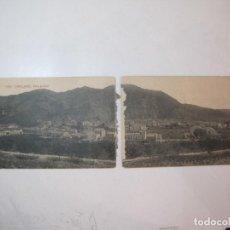 Postales: CAPELLADES-DOBLE-VISTA GENERAL-ATV 3784 A.T.V.-POSTAL ANTIGUA-(80.691). Lote 262953020