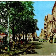 Postales: PALAFRUGELL (GIRONA) - DETALLE DE LA PLAZA - FOTO S. MARTÍ - 155X104 MM.. Lote 262984065