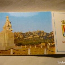 Postales: POSTAL MONTSERRAT -MONUMENTO BRUCH CM. Lote 262994975