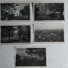 Postales: T-834.- LOTE DE -- 5 -- POSTALES FOTOGRAFICAS DE-- AMETLLA DEL VALLES , ARXIU RICART, VER FOTOS. Lote 263158775