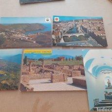 Postales: LOTE 5 POSTALES ANTIGUAS ZONA GERONA SIN ESCRIBIR. Lote 263553970