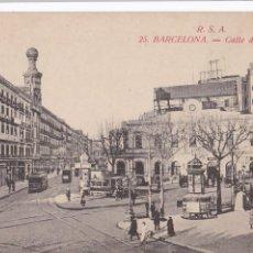 Postales: BARCELONA CALLE DE PELAYO. ED. ROVIRA S.A. Nº 25 SIN CIRCULAR. Lote 263580460