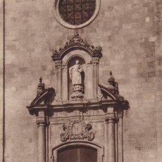 Postales: GIRONA TOSSA DE MAR IGLESIA SAN VICENTE. NO CONSTA EDITOR. SIN CIRCULAR. Lote 263581615
