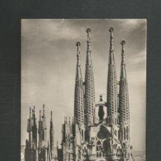 Postales: POSTAL SIN CIRCULAR BARCELONA 1040 TEMPLO DE LA SAGRADA FAMILIA EDITA ZERKOWITZ. Lote 263698720