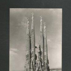 Postales: POSTAL SIN CIRCULAR BARCELONA 1033 TEMPLO DE LA SAGRADA FAMILIA EDITA ZERKOWITZ. Lote 263698985