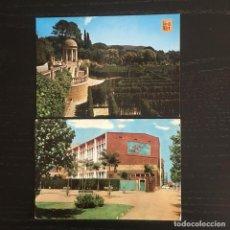 Cartes Postales: LOTE DE 2 POSTALES DISTINTAS DE BARCELONA CAPITAL - HORTA - POBLENOU CLUB NATACIÓN. Lote 263786645
