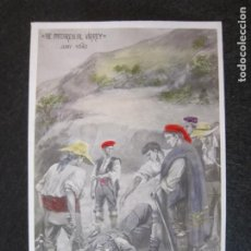 Postales: CATALUNYA-NE MATAREN AL VIRREY-JUNY 1640-VERSION COLOREADA-FOTOGRAFICA-POSTAL ANTIGUA-(80.782). Lote 264054905