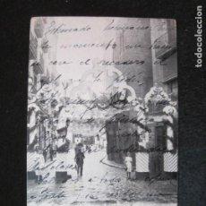 Postales: BARCELONA-FIESTAS DE LA MERCED 1902-BALSAS DE SAN PEDRO-REVERSO SIN DIVIDIR-POSTAL ANTIGUA-(80.855). Lote 264425204