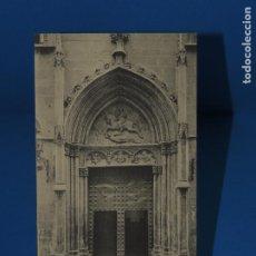 Postales: BARCELONA:IGLESIA DE S. JAIME. PUERTA PRINCIPAL. A.T.V 164. (SIN CIRCULAR). Lote 264761659