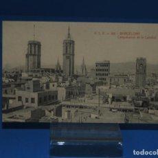 Postales: BARCELONA: CAMPANARIOS DE LA CATEDRAL. A.T.V 168. (SIN CIRCULAR). Lote 264763479