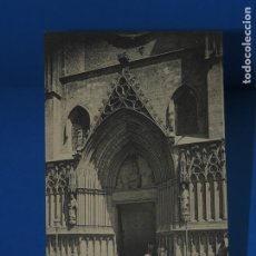 Postales: BARCELONA:FACHADA PRINCIPAL DE LA IGLESIA DE SANTA MARIA DEL MAR . A.T.V 146. (SIN CIRCULAR). Lote 264766459