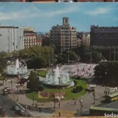 Postales: POSTAL N°27 PLAZA DE CATALUÑA BARCELONA. Lote 265704434