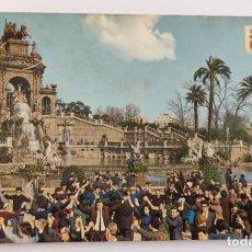 Postales: POSTAL 1252 CASCADA DEL PARC DE LA CIUTADELLA. BARCELONA TÍPICA.. Lote 265793664
