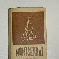 Postales: 24 FOTOGRAFÍAS EN ACORDEÓN DE MONTSERRAT, ARCHIVO DEL MONASTERIO. Lote 266604398