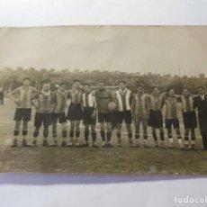 Postales: MAGNIFICA ANTIGUA FOTOS TARJETA POSTAL EQUIPO DE FUTBOL DEL ESPARRAGUERA SOBRE 1930. Lote 266885474