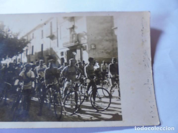 Postales: magnifica antigua fotos tarjeta postal fiesta mayor de esparraguera ciclistas fechada 1931 - Foto 2 - 266885654