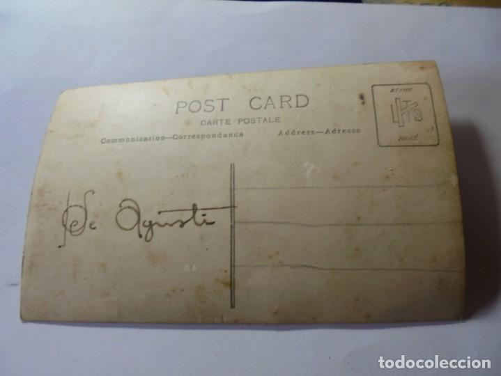 Postales: magnifica antigua fotos tarjeta postal fiesta mayor de esparraguera ciclistas fechada 1931 - Foto 4 - 266885654