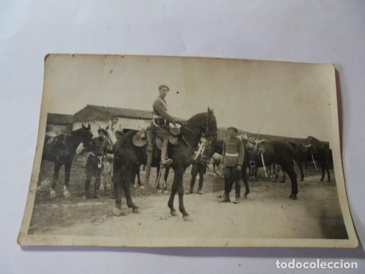 MAGNIFICA ANTIGUA FOTOS TARJETA POSTAL MILITARES ALREDEDORES DE ESPARRAGUERA 1930 (Postales - España - Cataluña Antigua (hasta 1939))