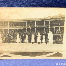 Postales: POSTAL PLAZA TOROS CATALUÑA 1916 SARDANAS BAILES REGIONALES SARDANES DANCAIRES ZARAGOZA 14X9CMS. Lote 267082834