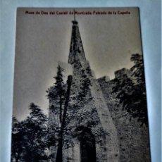 Cartoline: POSTAL MUY ANTIGUA - MONTCADA -FACHADA CAPELLA MARE DE DEU DEL CASTELL - SIN CIRCULAR. Lote 267284029