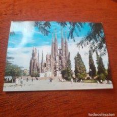 Postales: ANTIGUA POSTAL DE LA SAGRADA FAMILIA , AÑOS 50,. Lote 267356384