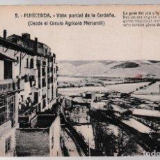 Postales: T - GERONA - PUIGCERDÀ - VISTA PARCIAL DE LA CERDAÑA - DESDE EL CIRCUITO AGRÍCOLA MERCANTIL. Lote 268114904