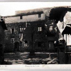 Postales: T - BARCELONA - CASSERRES - PLAÇA DE LA CREU. Lote 268116279