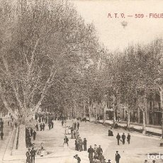Postales: FIGUERAS Nº509 RAMBLA A.T.V. - BARCELONA S.C.. Lote 268133384