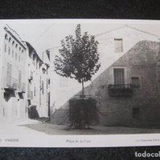 Postais: VINEBRE-PLAÇA DE LA CREU-FOTOGRAFICA DEPORTES FERRE-13-POSTAL ANTIGUA-(81.556). Lote 268460194