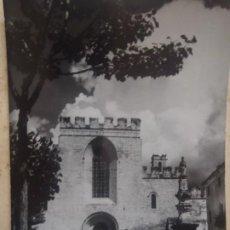 Postales: MONASTERIO DE SANTES CREUS - PLAZA SAN BERNARDO. Lote 268470194