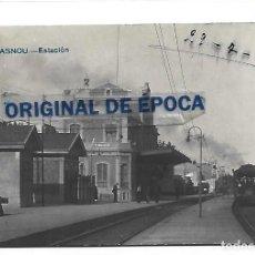 Postales: (PS-65548)POSTAL FOTOGRAFICA DE MASNOU-ESTACION. Lote 268742994