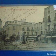 Postales: (PS-65568)POSTAL DE IGUALADA-PLAZA DE LA CONSTITUCION.A.T.V.925. Lote 268848684