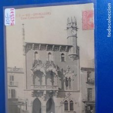 Postales: (PS-65578)POSTAL DE GRANOLLERS-CASAS CONSISTORIALES.A.T.V.608. Lote 268849899