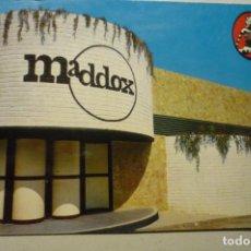 Postales: POSTAL PLAYA DE ARO.-DISCOTECA MADDOX -CIRCULADA PERO NO HAY SELLO ¡¡. Lote 268886404
