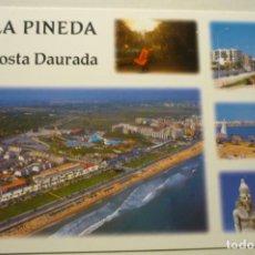 Postales: POSTAL LA PINEDA DIVERSOS ASPECTOS. Lote 268901554