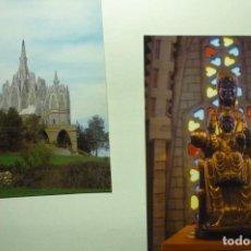 Postales: LOTE `POSTALES MONTFERRI-SANTUARIO- VIRGEN MONTSERRAT. Lote 268901779