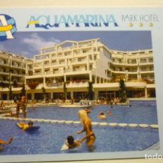 Postales: POSTAL AQUAMARINA HOTEL SANTA SUSANNA. Lote 268901909