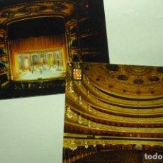 Postales: LOTE POSTALES GRAN TEATRO LICEO BARCELONA11 ESCRITA-CIRCULADA¡¡. Lote 268903279