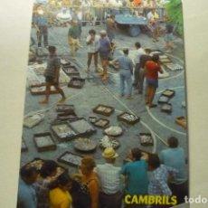 Postales: POSTAL CAMBRILS PESCA RECIEN LLEGADA. Lote 268903474