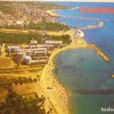 Postales: POSTAL CAMBRILS AEREA Bº MARITIMO Y PUERTO. Lote 268903549