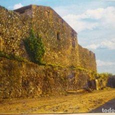Postales: POSTAL LA SELVA DEL CAMP.-PARED DEL CASTILLO DEL PABORDE. Lote 268903694