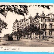 Postales: 39. BARCELONA AVENIDA DE ALFONSO XIII. CIRCULADA CON SELLO.. Lote 269088388
