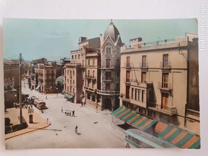 MANRESA - PLAZA SANTO DOMINGO Y AVENIDA DEL CAUDILLO - LAXC - P52029 (Postales - España - Cataluña Moderna (desde 1940))